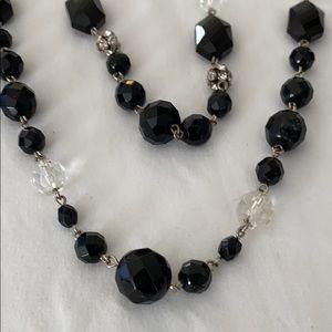 White House Black Market double necklace
